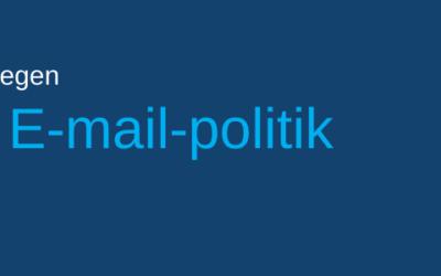 Lav jeres egen e-mail-politik