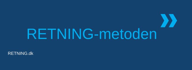 RETNING-metoden