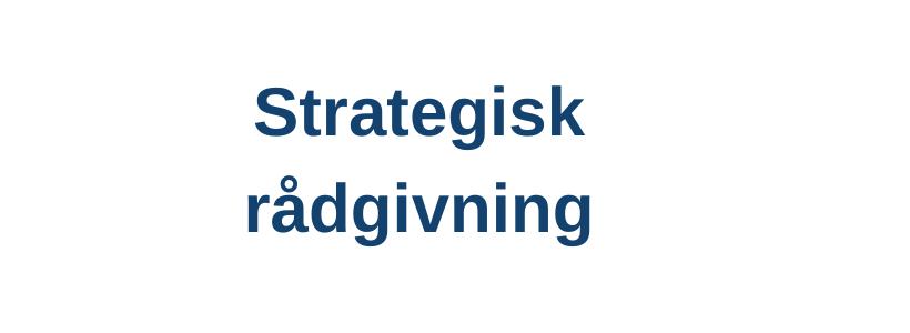 Strategisk rådgivning – vær ikke din egen værste fjende